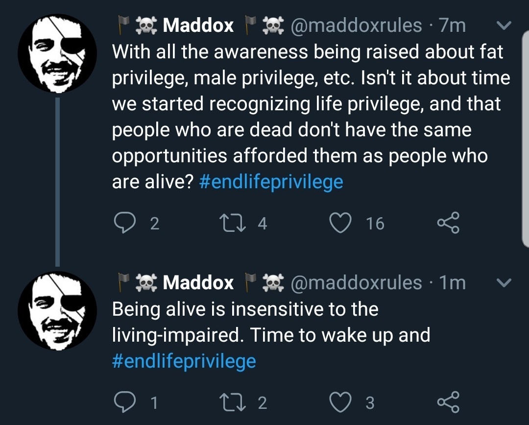 Title privilege - meme