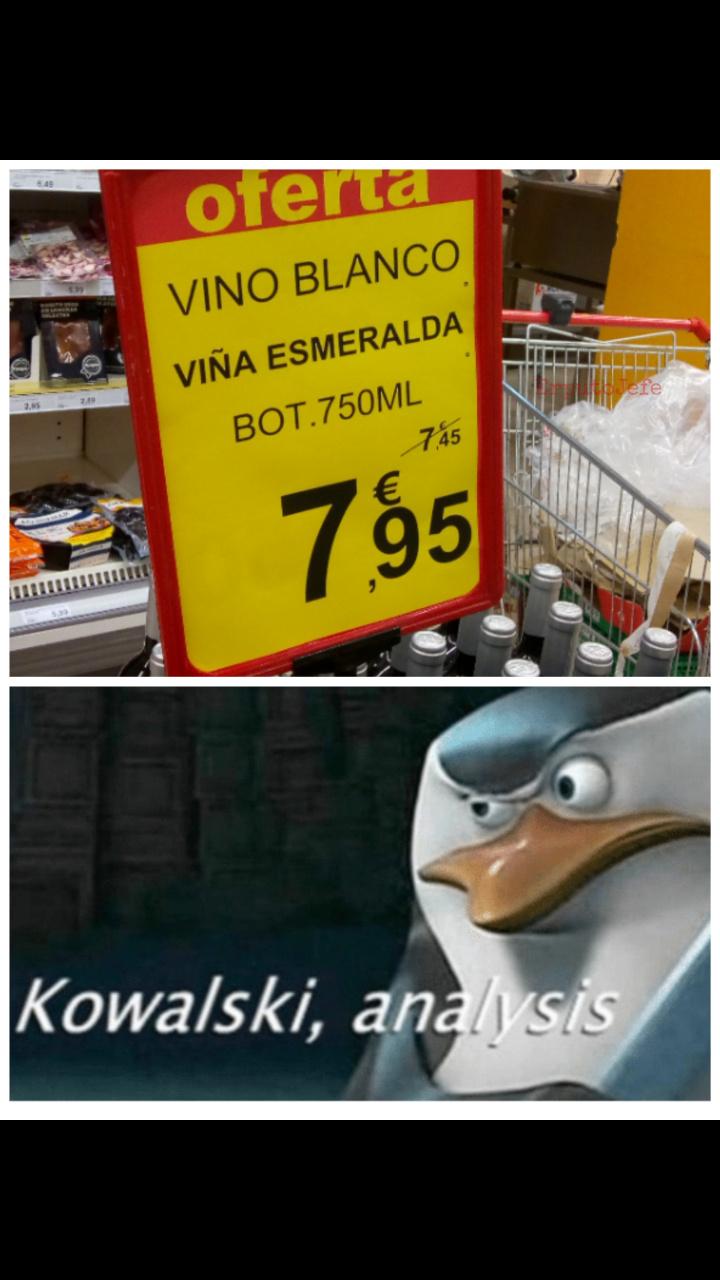 Puta, que ofertón - meme