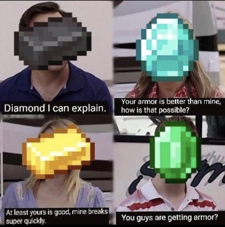 poor emerald - meme