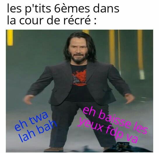 Les p'tits 6èmes - meme