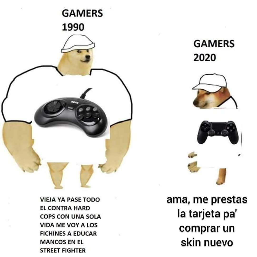 Ups generación moderna - meme