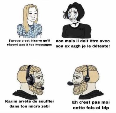 Karim arrête zebi - meme