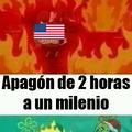 En un día normal en Venezuela no hay electricidad 26 horas al día