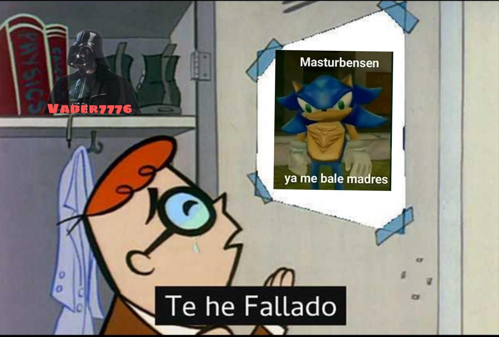 Le fallamos :( - meme