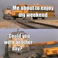Work is quicksand