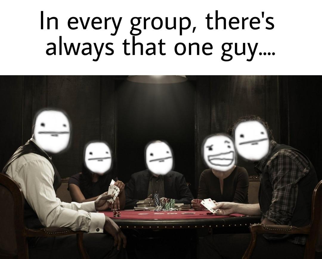 Don't be that guy - meme