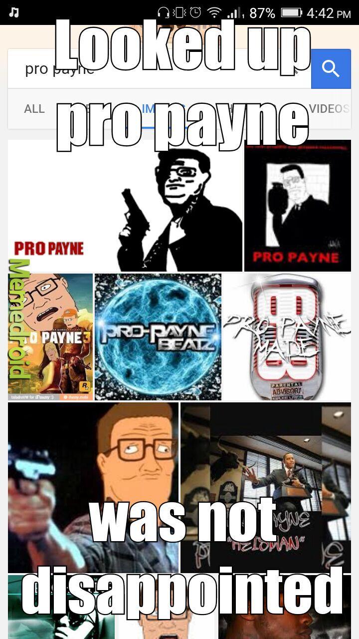 Pro Payne - meme
