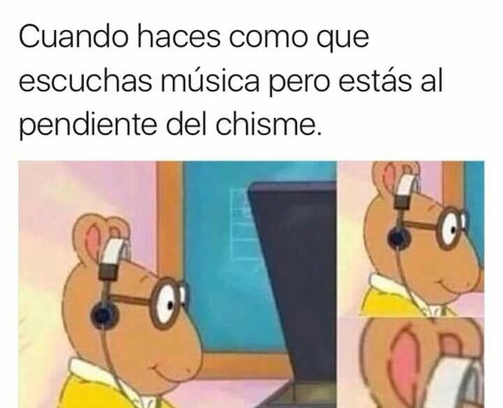 Chisme - meme