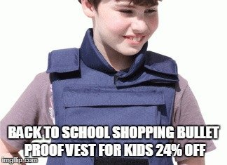with all schooling shootings in america - meme