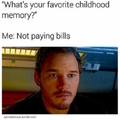 My favorite childhood memory