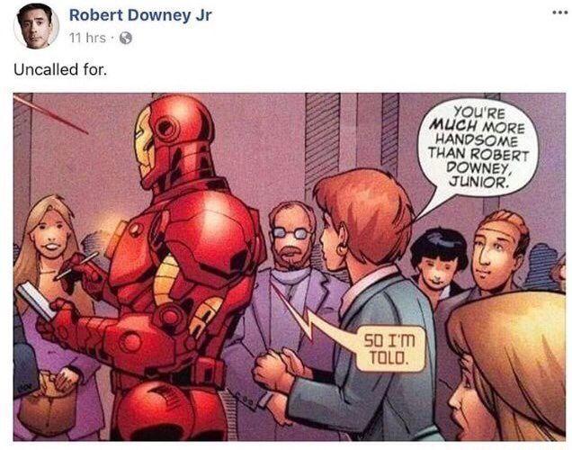 I am iron man - meme