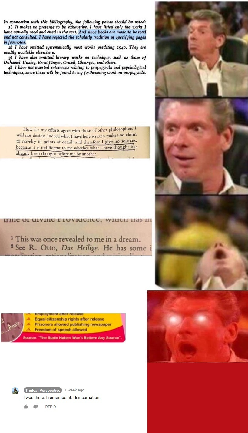 The proper way to cite your sources for all you english majors out there - meme
