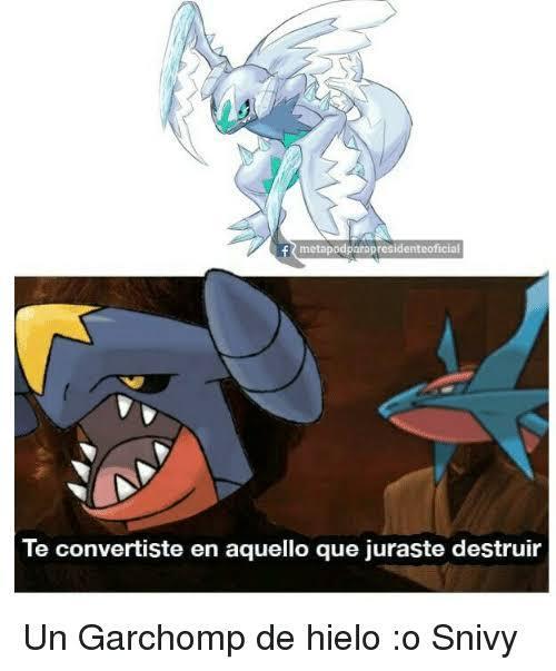 Garchomp hielo :0 - meme