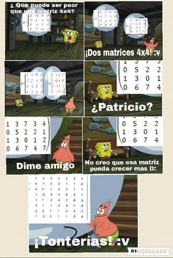 Malditas matematicas:v - meme