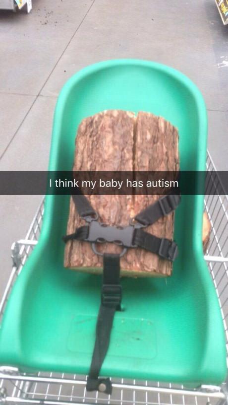Bebe autista - meme