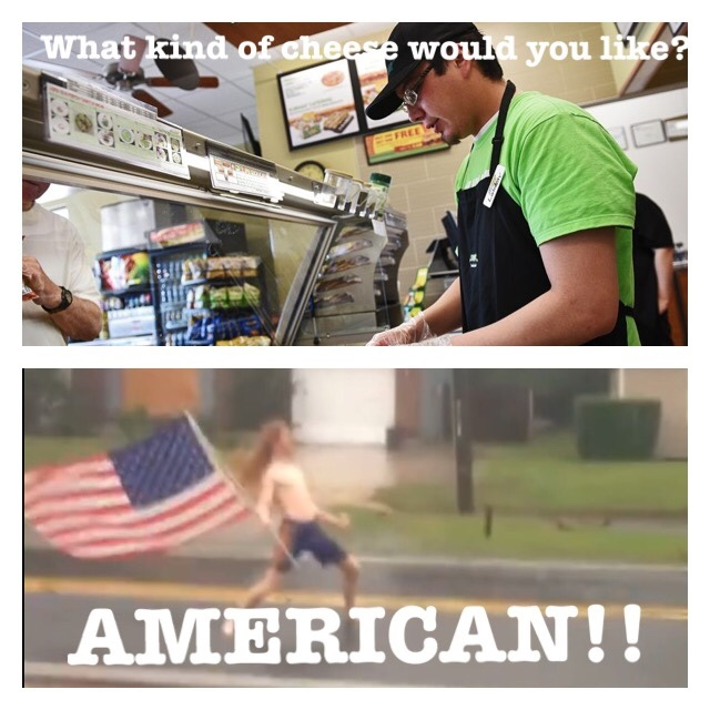 Every time I got to Subway - meme