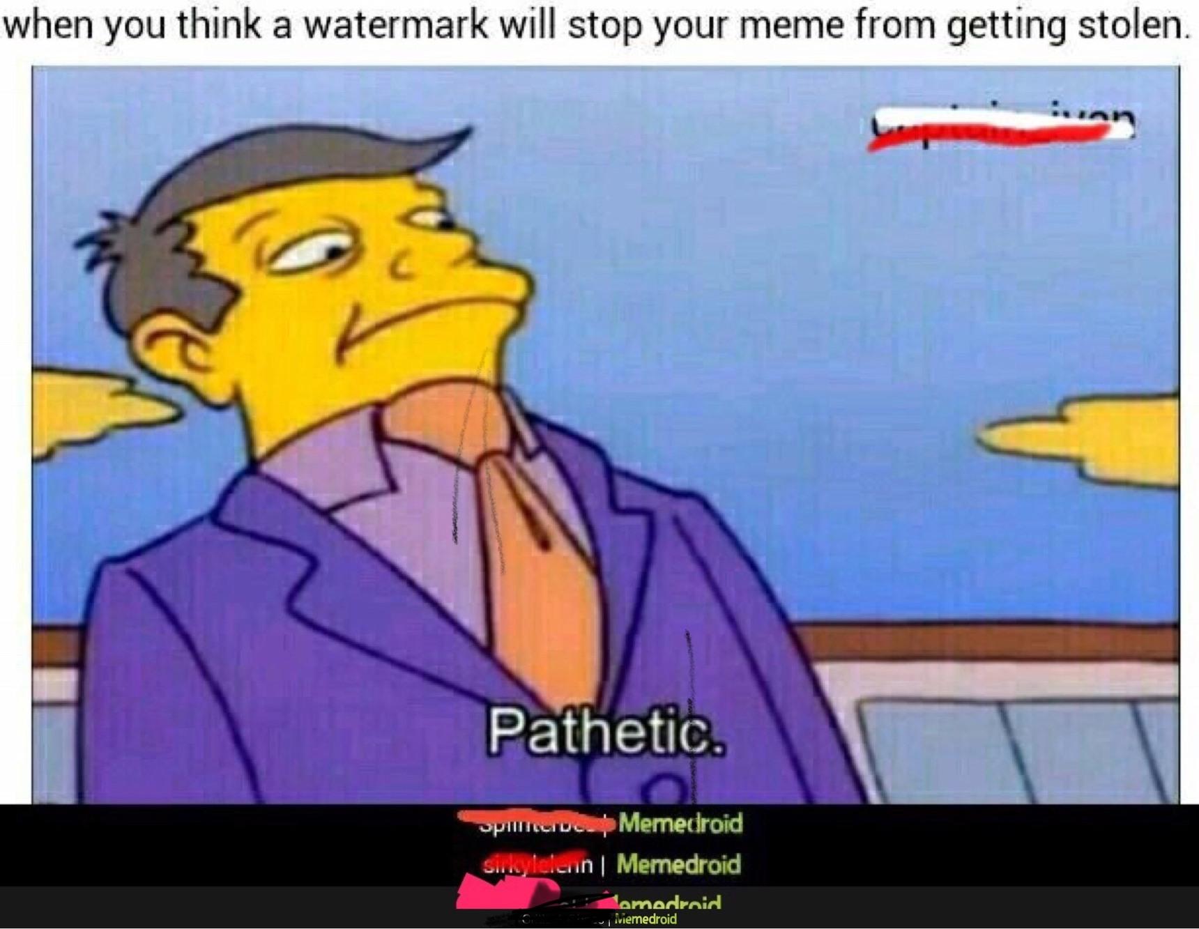 oc plz don't steal - meme