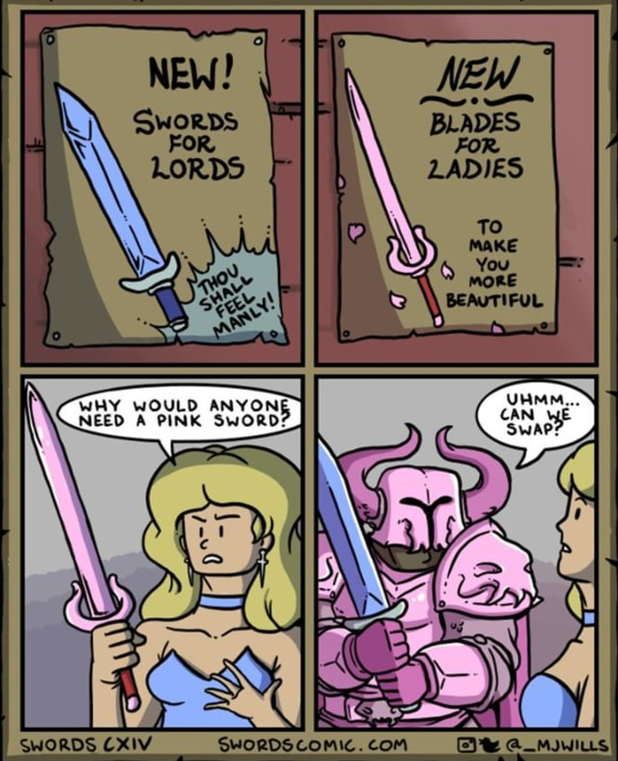 Matching armour sets > stats - meme