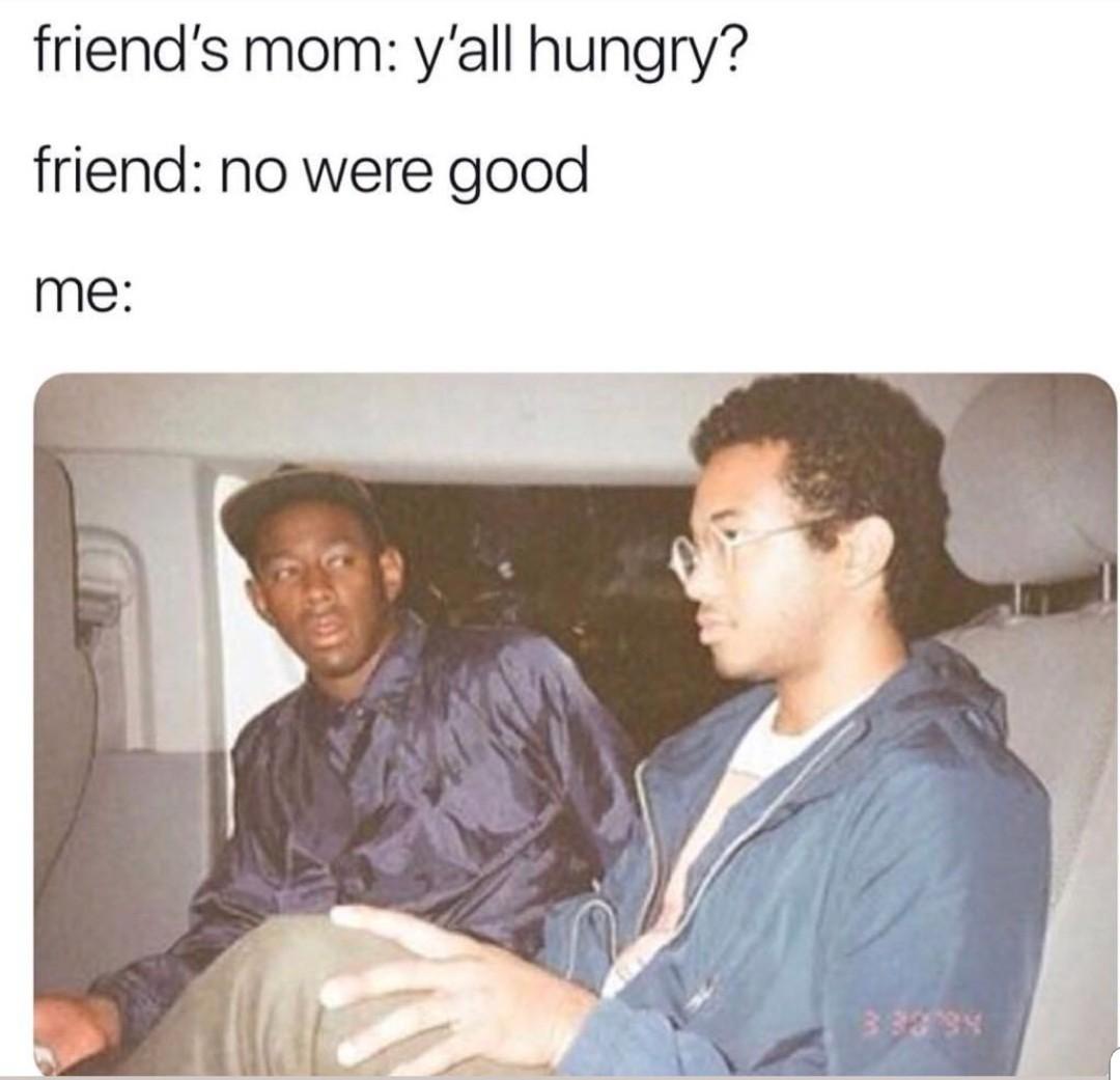 Dnt speak on my behalf ya little shit - meme