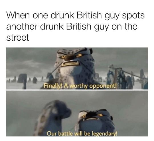 Legendary Brits - meme