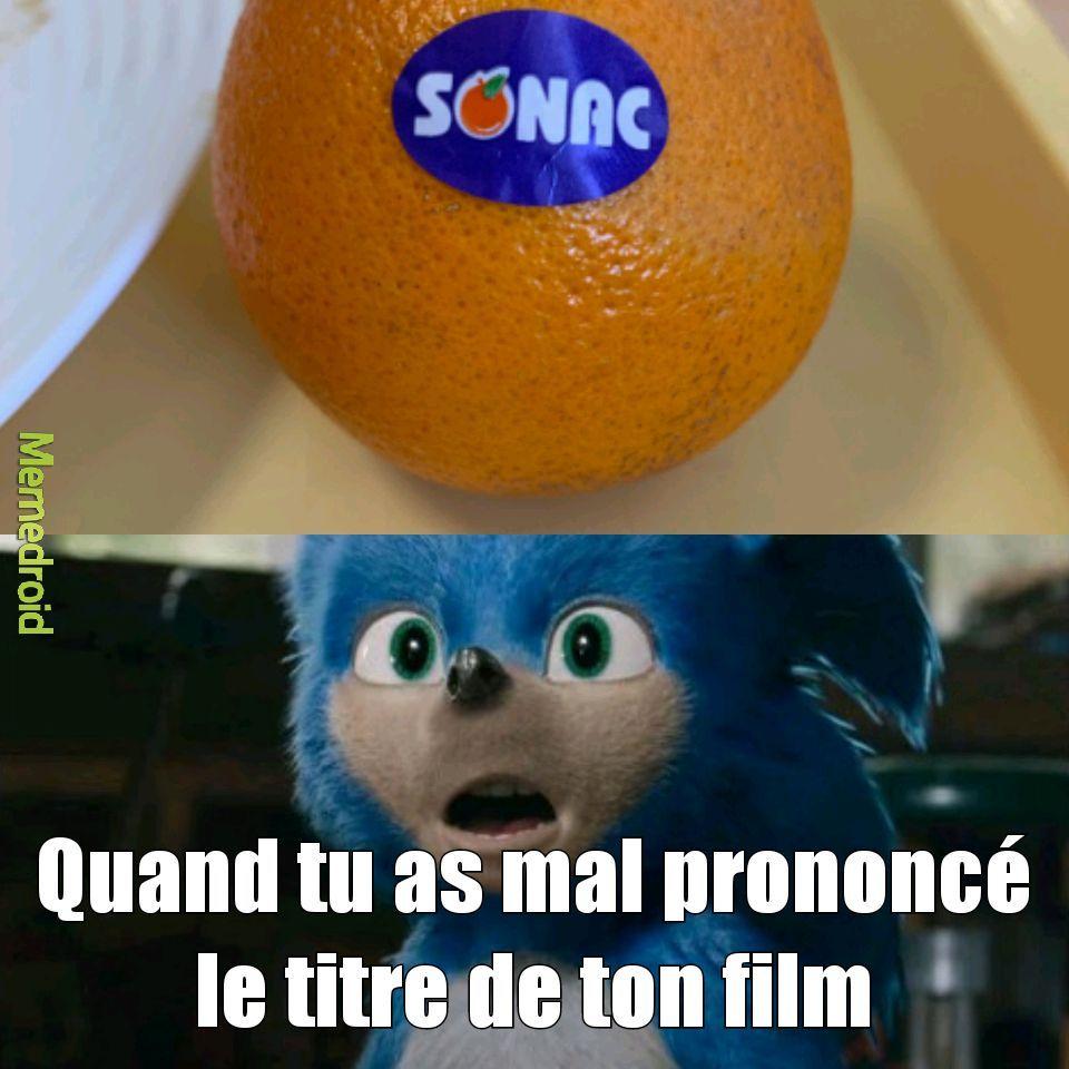 Les oranges de la cantine... - meme