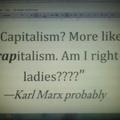 who's Karl Marx?