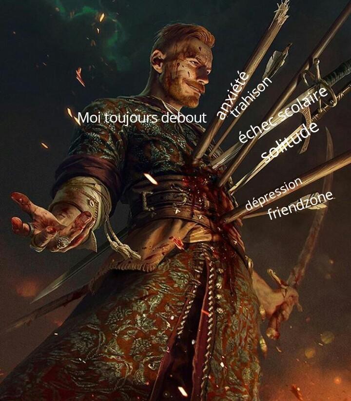"""Il y avais pas une autre épée pour """"déception de la famille"""" - meme"""