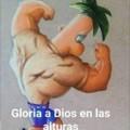 Gloria a DIOS en las alturas xd