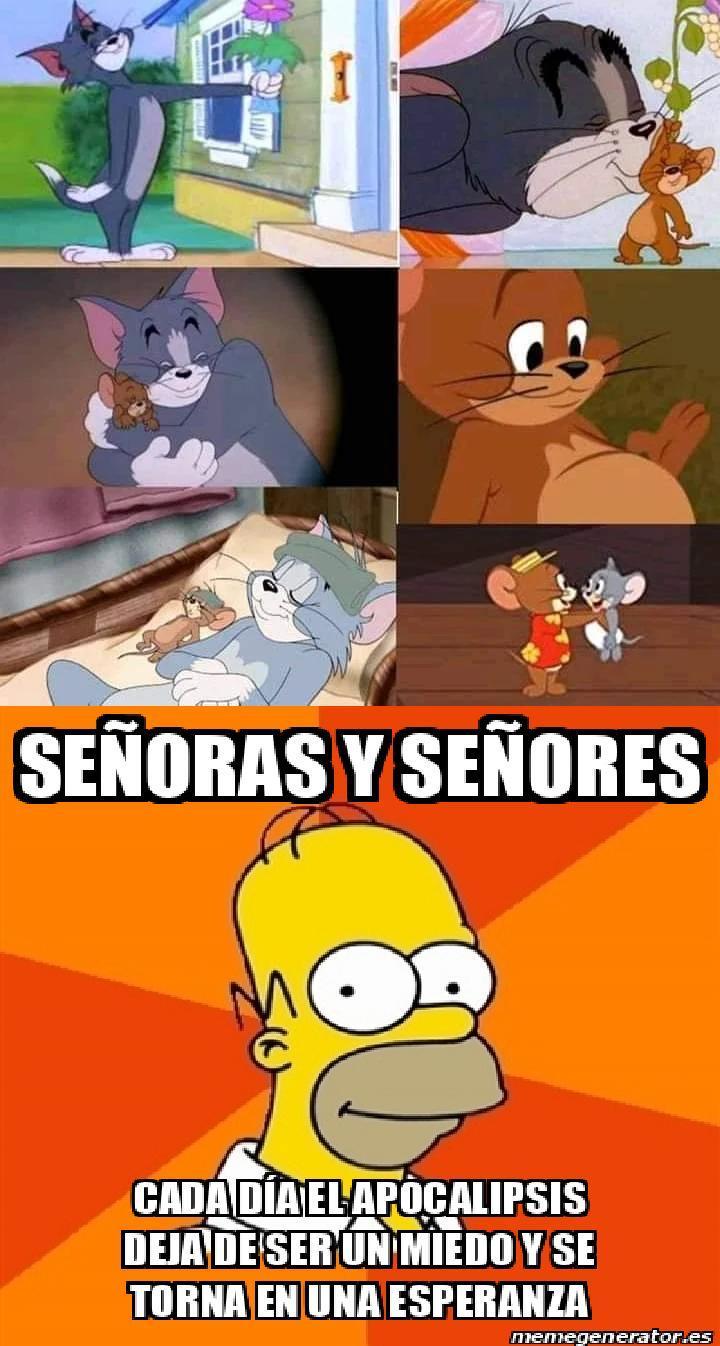 SABIAS PALABRAS HOMER!!! - meme