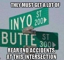Butt intersection - meme