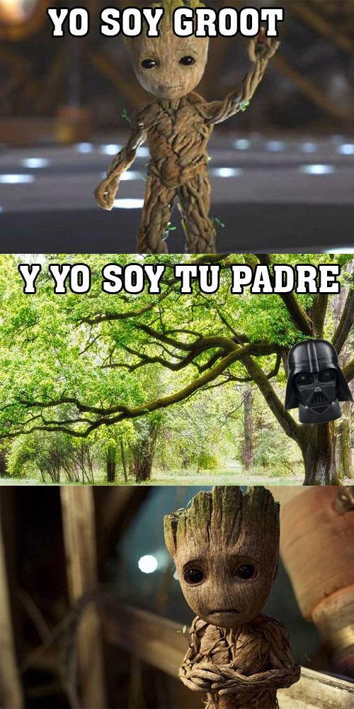 YO SOY GROOT!! - meme