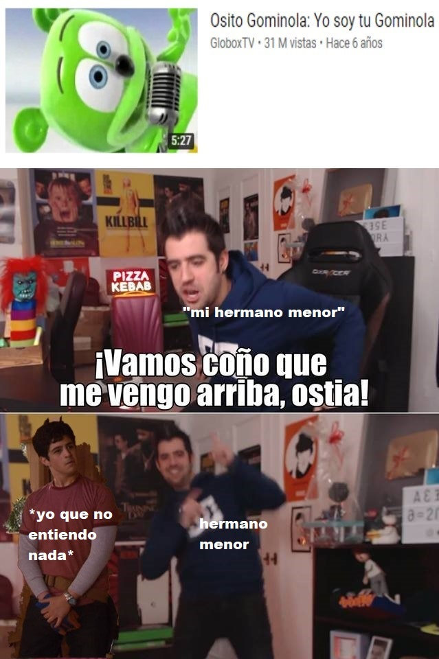 A mis hermanos le encanta pero yo: Excuse Me What the Fuck - meme