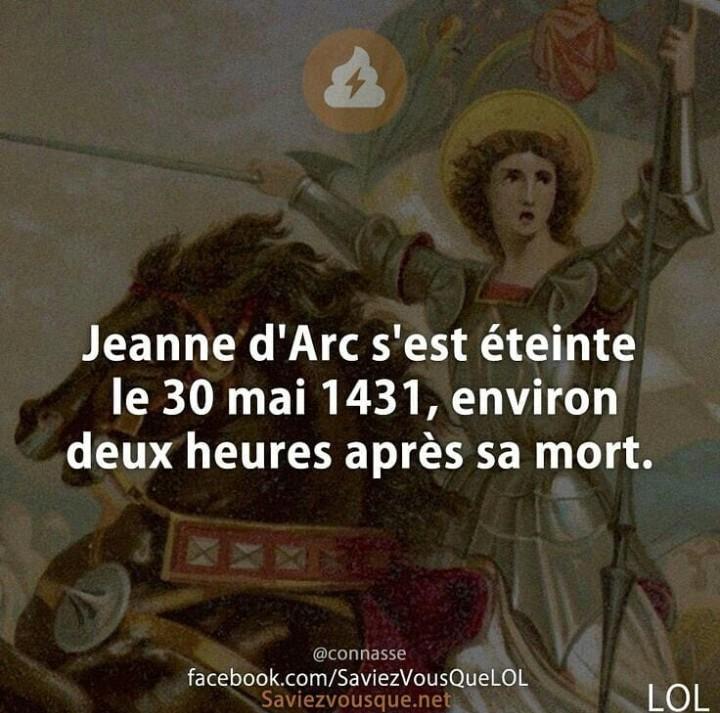 Jeanne d'arc - meme
