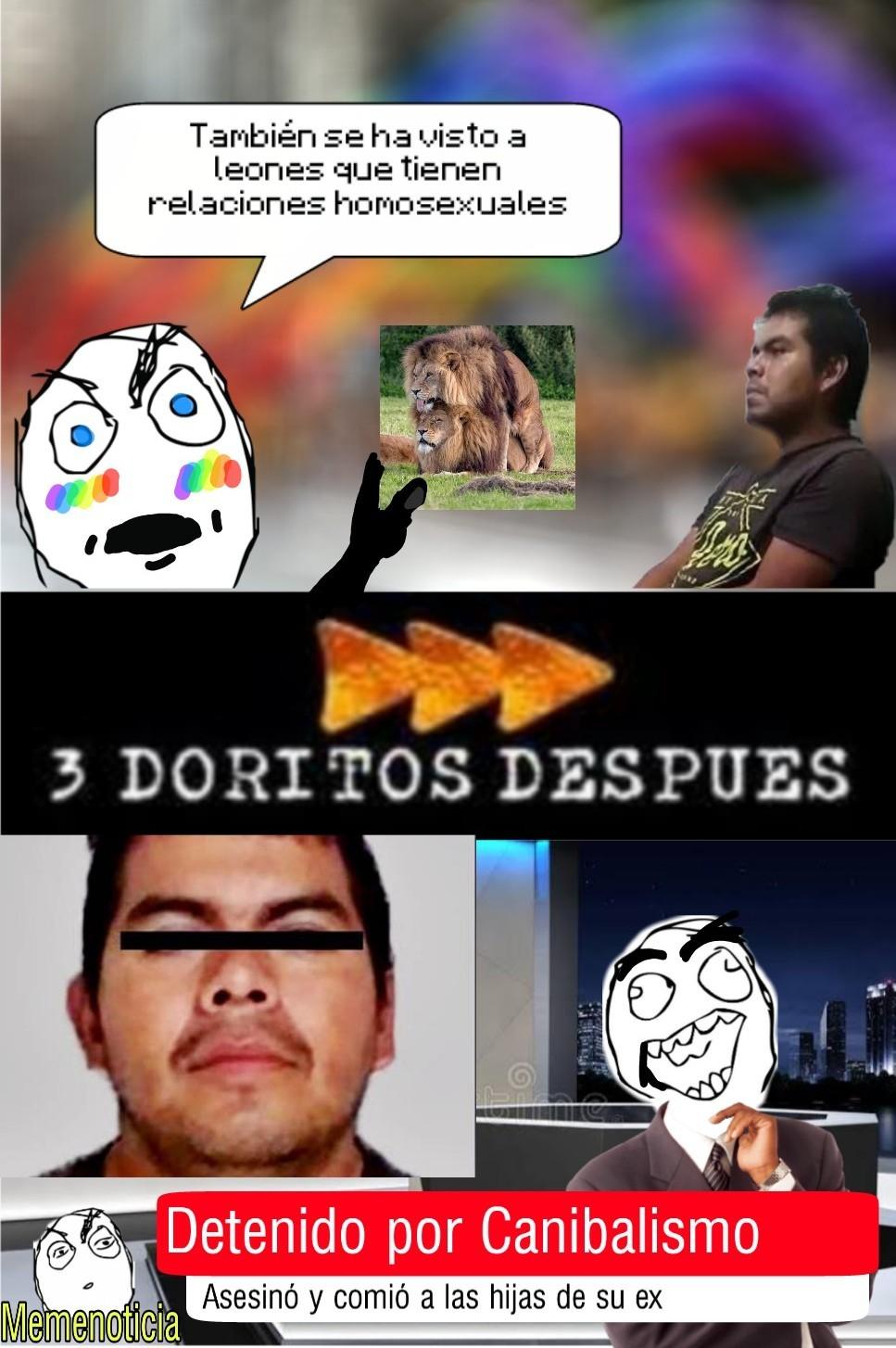 Esa persona es el monstruo de Ecatepec que mato y se comió a una niña :ohgodwhy: - meme