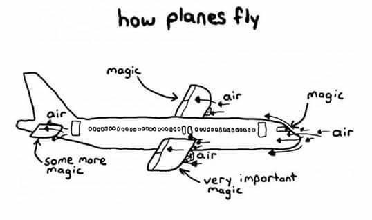 How they fly - meme