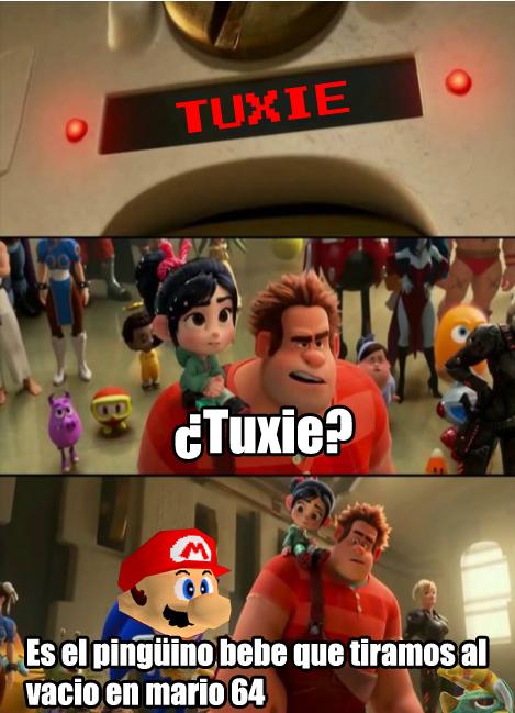 tuxie - meme