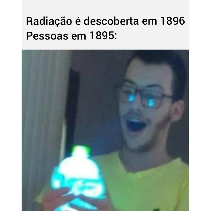 Radiação - meme
