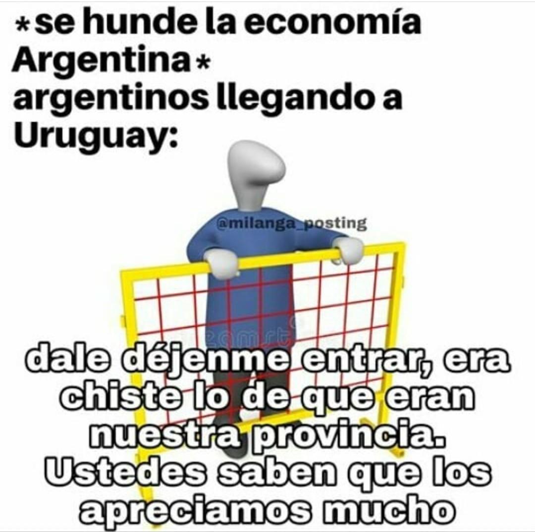 Messi y el mate son uruguayos ahora dejen pasar - meme
