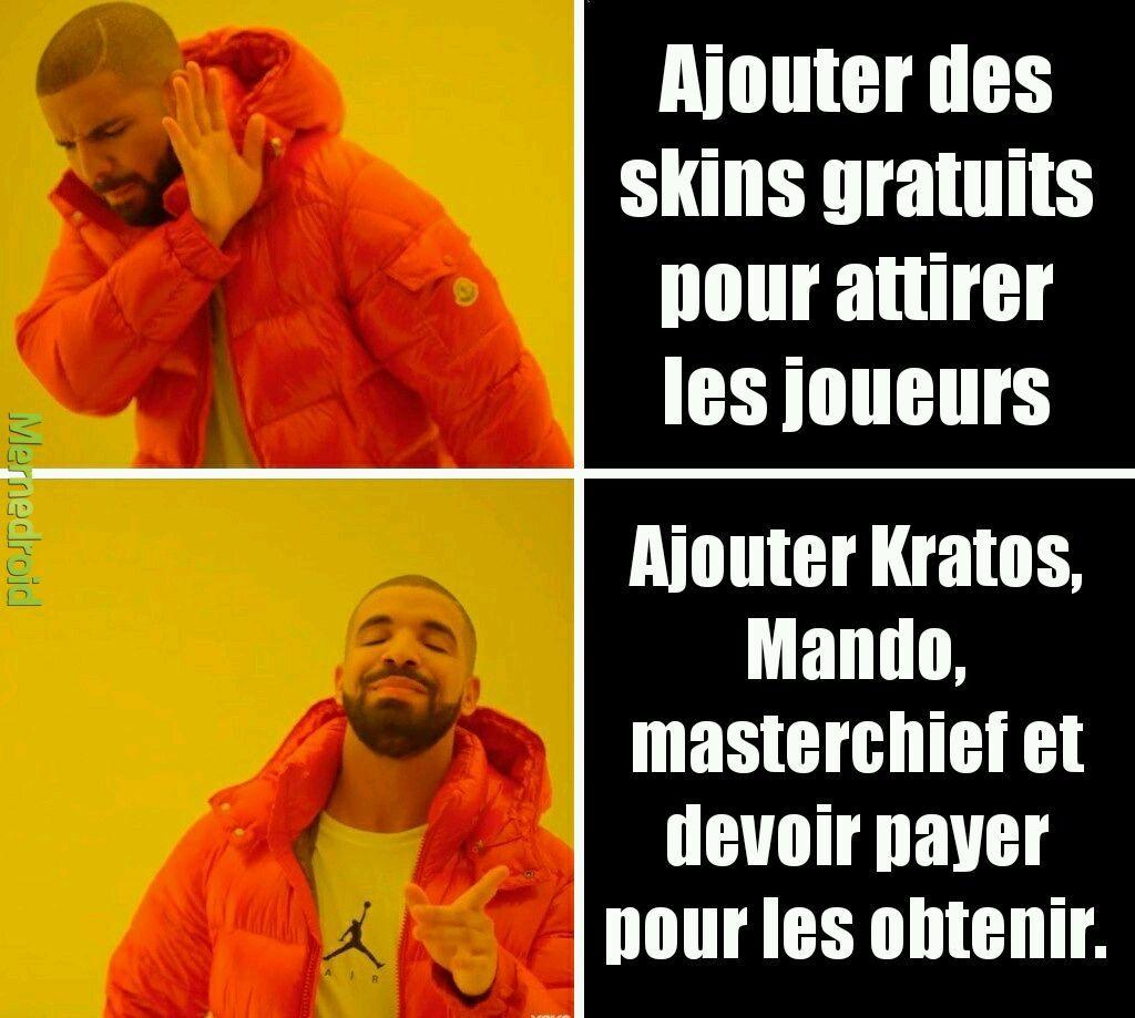 Epic games logic - meme