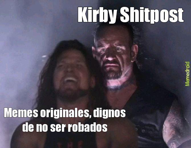Kirby Shitpost  - meme