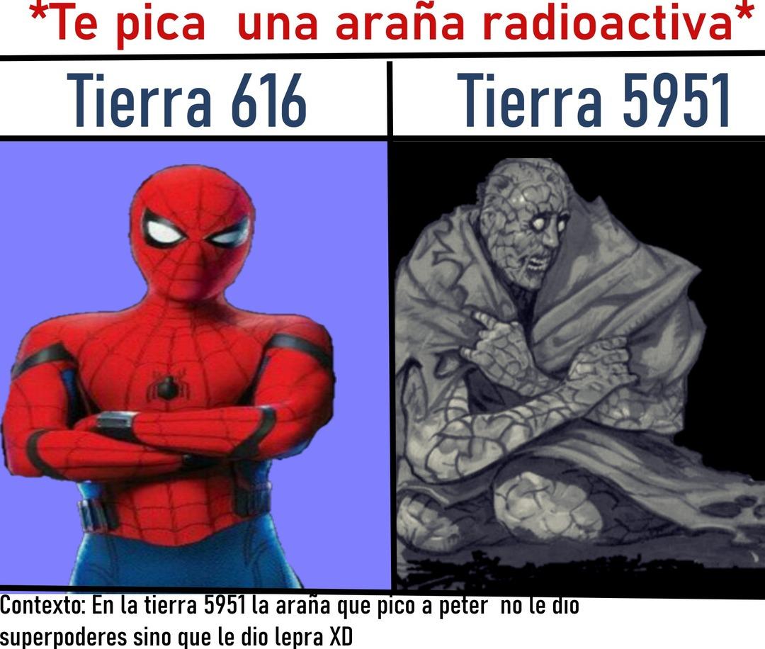 No me gusta lo que hicieron con spiderman pero debo admitir que el comic está Buenardo - meme
