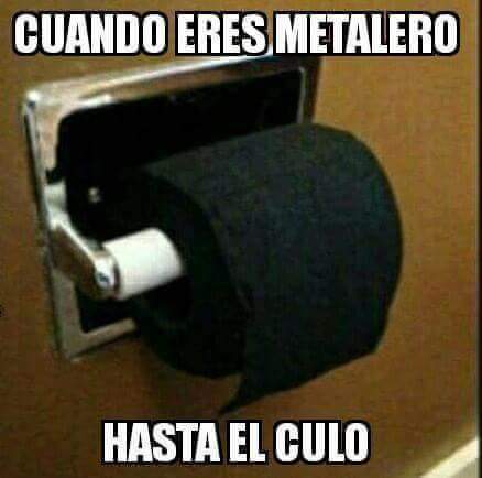viva el metal :v - meme