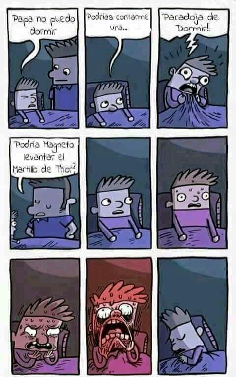 La wea paradojica - meme
