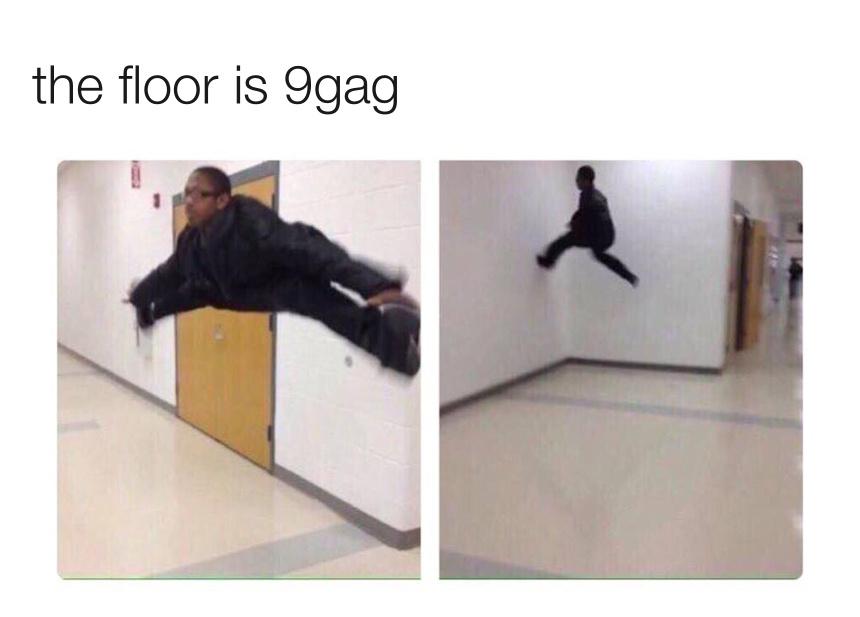 NOT THE 9GAG! - meme