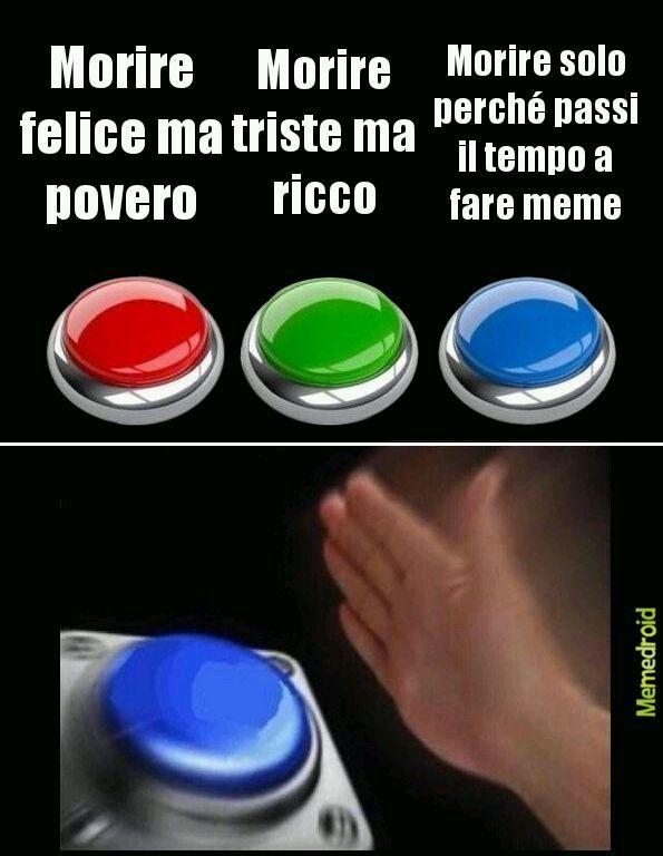La scelta - meme