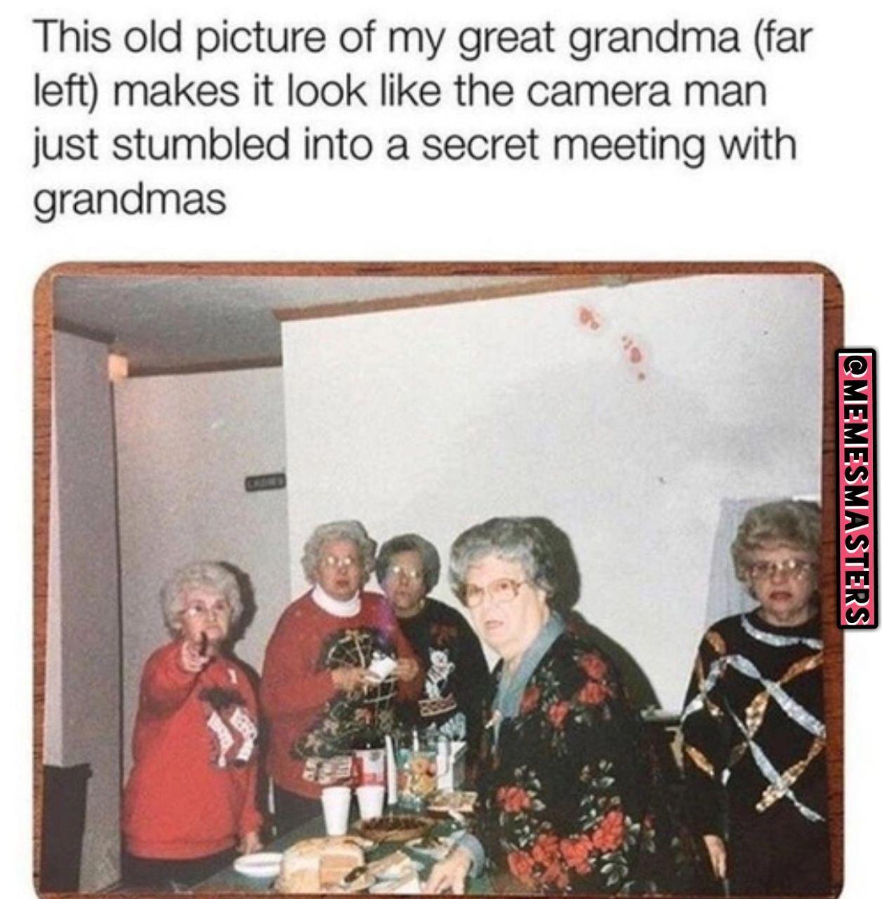 Grandma - meme