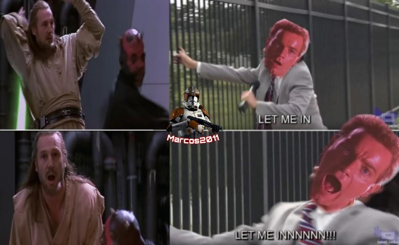 El título fue asesinado enfrente de su aprendiz - meme