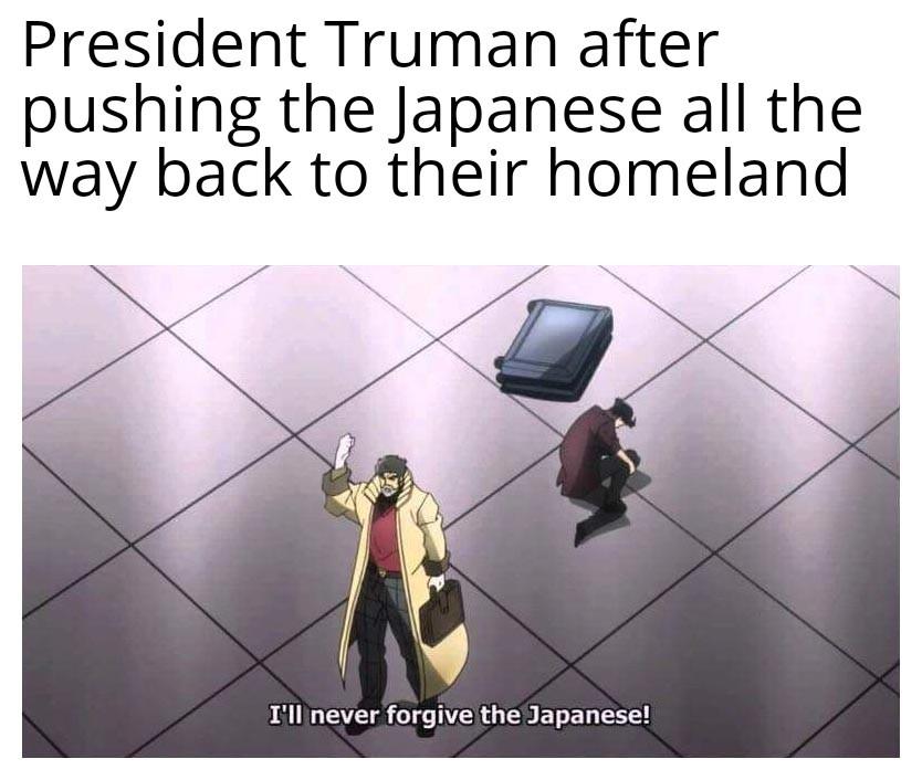 Only accept total surrender - meme