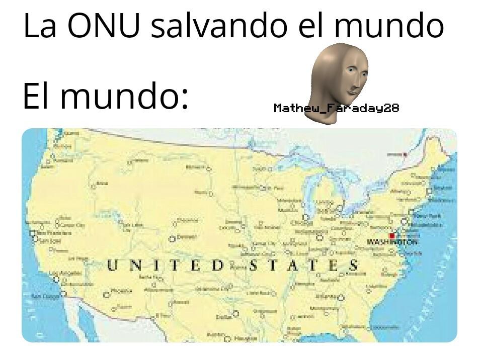 Mapa feo :( - meme
