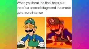 Poor luigi - meme
